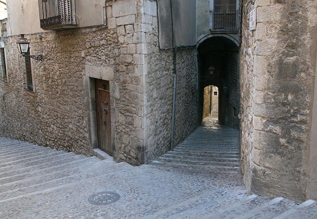 El barrio judío (Call) en Girona - Barrio en España